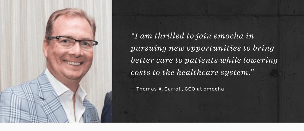 Thomas A. Carroll Joins emocha Mobile Health